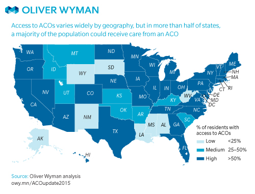 Slide Show Accountable Care Within Reach Of Of Americans - Us population map 2015