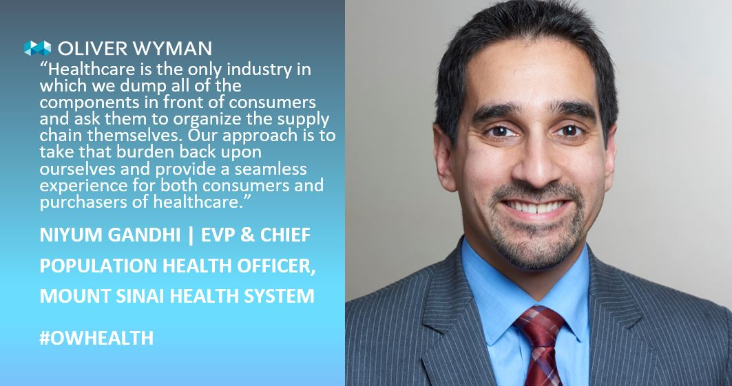 Podcast: An Inside Look at Mount Sinai's Consumer-Centric